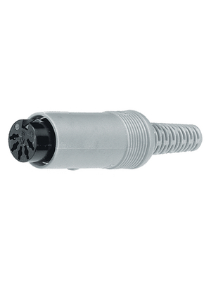 Belden Hirschmann - MAK 80 S - Cable socket grey 8P, MAK 80 S, Belden Hirschmann