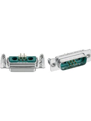 FCT - FM 13W3P1-0982 - D-Sub hybrid-plug 10 p. 3 p. N/A, FM 13W3P1-0982, FCT