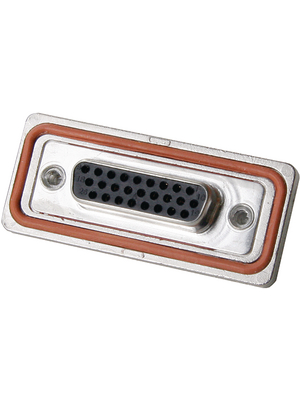 FCT - FWDRM25-44S-K1444 - D-Sub socket High Density / FWD 44P, FWDRM25-44S-K1444, FCT