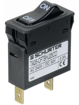 Schurter - 4435.0202 - Circuit-breaker, thermal 3.5 A, 4435.0202, Schurter