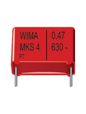 Wima - MKS4D042204F00KSSD - Capacitor 2.2 uF 100 VDC / 63 VAC, MKS4D042204F00KSSD, Wima