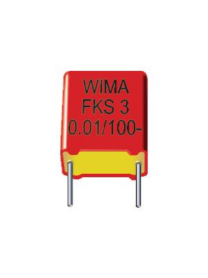 Wima - FKS3D023303D00MSSD - Capacitor 33 nF 100 VDC / 63 VAC, FKS3D023303D00MSSD, Wima