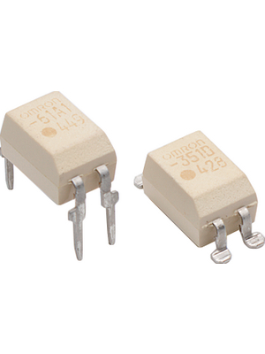 Omron Electronic Components - G3VM354C - Mosfet relay 350 VAC 150 mA, G3VM354C, Omron Electronic Components