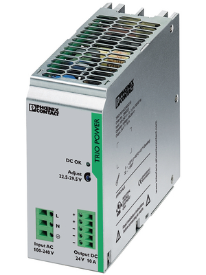Phoenix Contact - TRIO-PS/1AC/24DC/10 - Switched-mode power supply / 10 A, TRIO-PS/1AC/24DC/10, Phoenix Contact