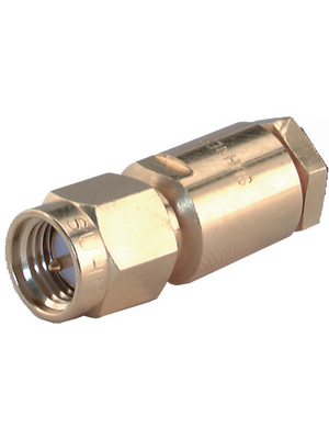 Huber+Suhner - 11_SMA-50-3-7/111_NE - Cable plug 50 Ohm SMA straight, 11_SMA-50-3-7/111_NE, Huber+Suhner