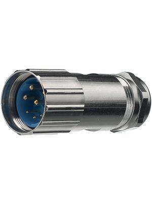Hummel - 7550 6 43 02 D - Cable socket, 4+3+PE Poles 4+3+PE, 7550 6 43 02 D, Hummel