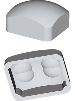 Murata - IML-0642 - Fresnel lenses for PIR sensors Polyethylene (PE) natural (white) -25...+60 °C, IML-0642, Murata