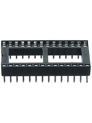 Assmann - A08-LC-T - IC socket, tin plated, DIL 8, A08-LC-T, Assmann