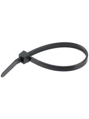 HellermannTyton - T 120 R-W - Cable tie black 387 mm x 7.6 mm, 111-12060, T 120 R-W, HellermannTyton