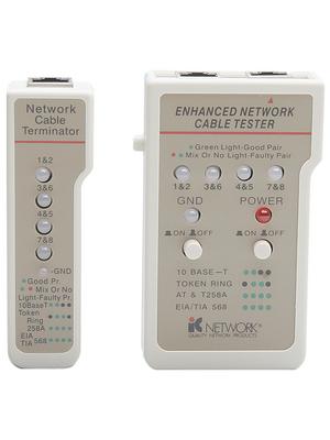 Intellinet - 351898 - LAN-Cable Tester RJ45 RJ11 / RJ45, 351898, Intellinet
