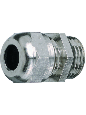 Jacob - 50.650M-L - Cable gland Nickel-plated brass M50 x 1.5, 50.650M-L, Jacob