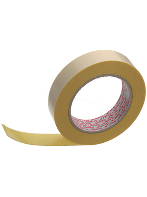 3M - 9195 25MMX25M - Double-sided adhesive tape yellow / transparent 25 mmx25 m, 9195 25MMX25M, 3M