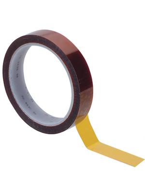 3M - NR. 92 19 MM X 33 M - Insulating tape brown / transparent 19 mmx33 m, NR. 92 19 MM X 33 M, 3M