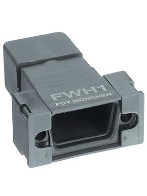 FCT - FWH1E - Plastic hood IP 67 9P, FWH1E, FCT