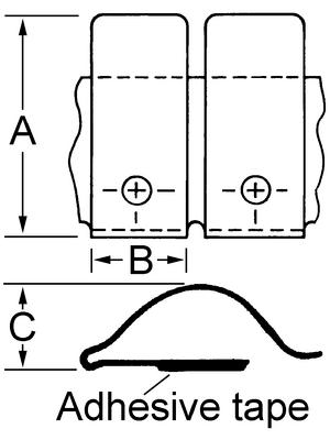 Laird - 97-500-02 - Shielding strip, 97-500-02, Laird