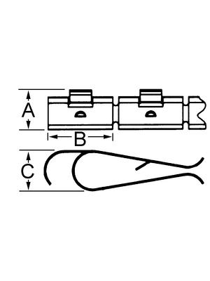Laird - 97-655-02 - Shielding strip, 97-655-02, Laird