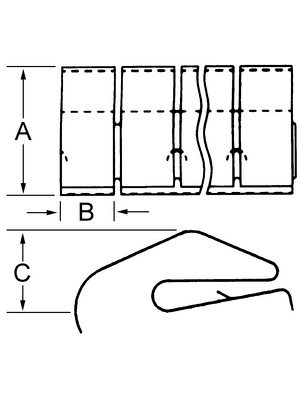 Laird - 97-656-02 - Shielding strip, 97-656-02, Laird