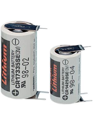 FDK - CR14250SE-FT1 - Lithium battery 3 V 850 mAh CR14250, 1/2AA, CR14250SE-FT1, FDK