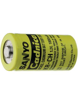 Sanyo - KR-CH - NiCd Battery 1.2 V 2500 mAh Consumer Version, KR-CH, Sanyo