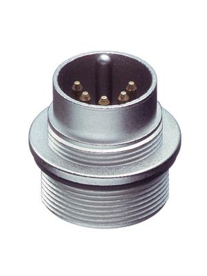 Lumberg Connect GmbH - 0314 07-1 - Appliance plug, 0314 7-pin Poles=7 - 270°, 0314 07-1, Lumberg Connect GmbH