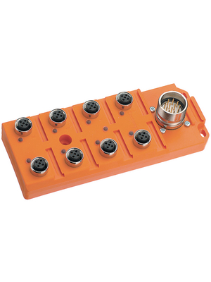 Belden Lumberg - ASBS 8/LED 5-4 - Actuator-sensor box, 8-way, ASBS 8/LED 5-4, Belden Lumberg
