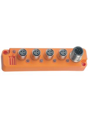 Belden Lumberg - SBS 4/LED 3 - Miniature sensor box 4-way, SBS 4/LED 3, Belden Lumberg