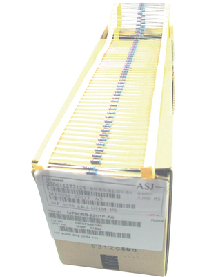 YAGEO - MF0207FTE52-100R - Resistor 100 Ohm 0.6 W  ±  1 % PU=Pack of 5000 pieces, MF0207FTE52-100R, YAGEO