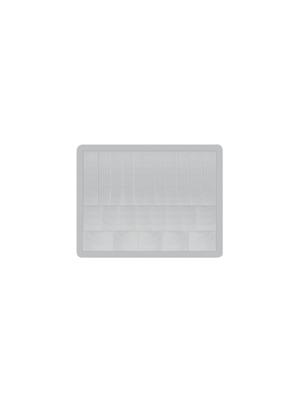 Murata - PPGI0902 - Fresnel lenses for PIR sensors Polyethylene natural (white) -20...+60 °C, PPGI0902, Murata