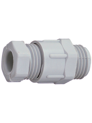 Jacob - 309PG - Cable gland PG9 6...8 mm 8 mm Polystyrene grey, RAL 7035 IP 55, 309PG, Jacob