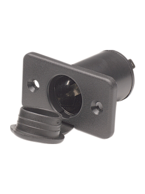 No Brand - 1754001206 - Vehicle installation socket, 21 mm, with flange, 1754001206, No Brand