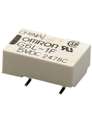 Omron Electronic Components - G6L-1F 24VDC - Signal relay 24 VDC 2504 Ohm 230 mW SMD, G6L-1F 24VDC, Omron Electronic Components