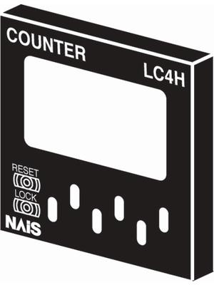 Panasonic - AEL58012J - Front cover, black, AEL58012J, Panasonic