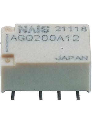 Panasonic - AGQ200A24 - Signal relay 24 VDC 2504 Ohm 230 mW SMD, AGQ200A24, Panasonic