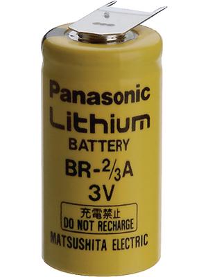 Panasonic Automotive & Industrial Systems - BR 2/3A E2SP - Lithium battery 3 V 1200 mAh, 2/3A, BR 2/3A E2SP, Panasonic Automotive & Industrial Systems