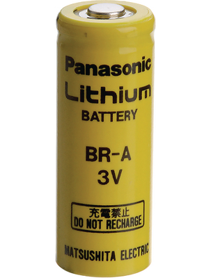 Panasonic Automotive & Industrial Systems - BR A - Lithium battery 3 V 1800 mAh, A, BR A, Panasonic Automotive & Industrial Systems