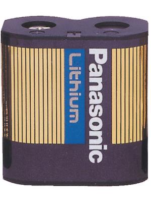 Panasonic Automotive & Industrial Systems - CR-P2L/1BP - Photo battery Lithium 6 V 1400 mAh, CR-P2L/1BP, Panasonic Automotive & Industrial Systems