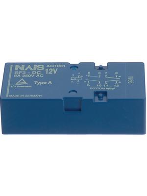 Panasonic - SF3-DC24V - PCB protection relay 24 VDC 500 mW, SF3-DC24V, Panasonic