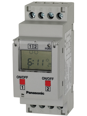 Panasonic - TB6220187 - Time clock relay Week, TB6220187, Panasonic