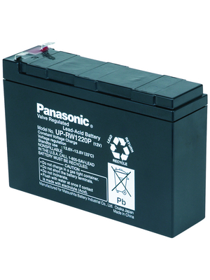 Panasonic Automotive & Industrial Systems - UP-VW1220P1 - Lead-acid battery 12 V, UP-VW1220P1, Panasonic Automotive & Industrial Systems
