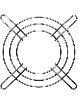 EBM-Papst - LZ22N - Protective grid Metal 80 x 80 mm, LZ22N, EBM-Papst