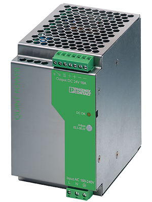 Phoenix Contact - QUINT-PS-100-240AC/24DC/10 - Switched-mode power supply / 10 A, QUINT-PS-100-240AC/24DC/10, Phoenix Contact