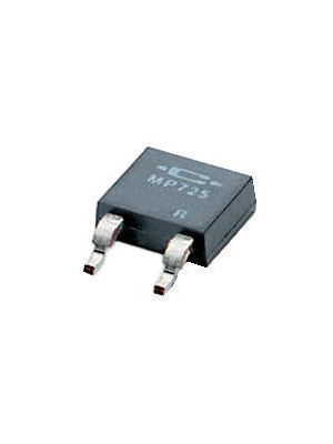 Caddock - MP725-10,0-1% - SMD Resistor, Thick film 10 Ohm,  ±  1 %, DPAK, MP725-10,0-1%, Caddock