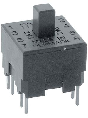 MEC - 15.501 - Print key Key module 120 VAC/DC 250 mA Through Hole THT, 15.501, MEC