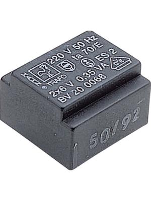 Hahn - 201 0147 - PCB transformer 0.35 VA 15 VAC  (1x), 201 0147, Hahn