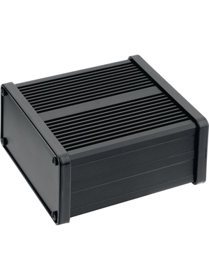 Hammond - 431611 - Profile housing black Aluminium IP 40 N/A, 431611, Hammond