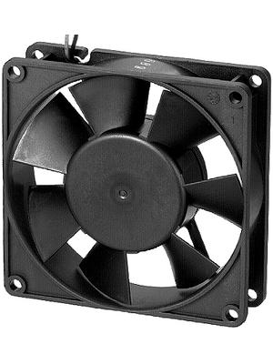 EBM-Papst - 3412NG - Axial fan DC 92 x 92 x 25 mm 84 m3/h 12 VDC 2.2 W, 3412NG, EBM-Papst
