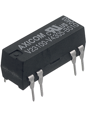 TE Connectivity - V23100-V4005-A010 - Reed relay 5 VDC 380 Ohm 60 mW, V23100-V4005-A010, TE Connectivity