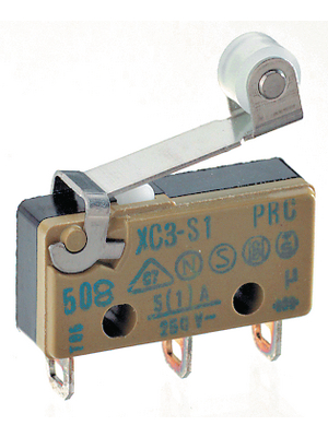 1CO SAIA-BURGESS XCG3-S1Z1 Micro Switch 6A 250V Roller Lever