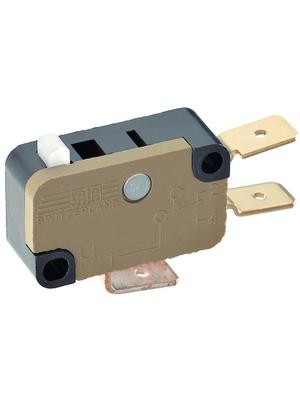 Saia - XGK3-88Z1 - Micro switch 12 AAC Plunger N/A 1 change-over (CO), XGK3-88Z1, Saia