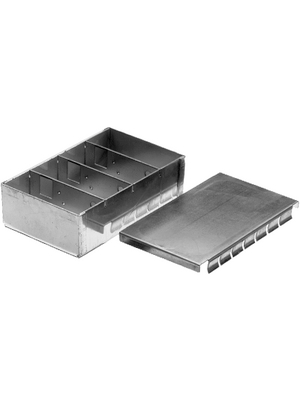 Teko - 393.16 - Small metal housing Metal, matte  Iron sheet zinc plated IP 20 N/A, 393.16, Teko